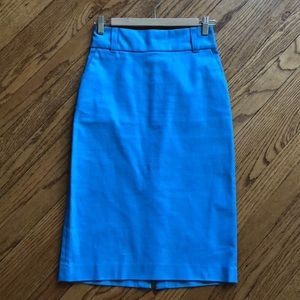 Banana Republic high waisted pencil skirt, size 4